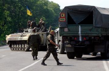 Під Волновахою 195 беззбройних українських військових потрапили в засідку