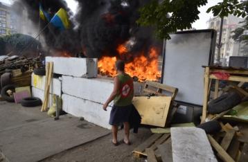 На Майдані Незалежності нова пожежа
