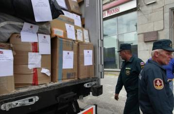 Колонна с гуманитарной помощью из РФ пересечет границу в Харьковской области