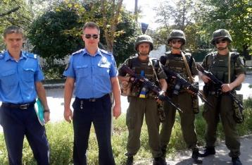 Рада разрешила милиционерам пользоваться оружием в зоне АТО наравне с армией