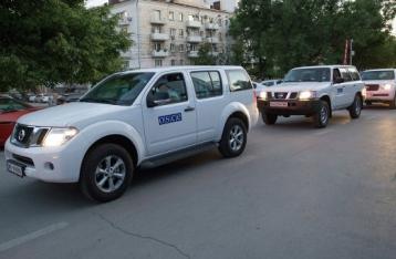 Миссия ОБСЕ не наблюдала перемещений оружия через российские КПП
