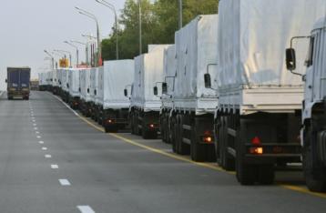 Українські прикордонники прибули в РФ для перевірки гуманітарного вантажу
