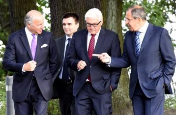 У Берліні завершились чотиристоронні переговори щодо Донбасу