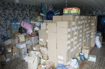 Жители Первомайска получили гуманитарную помощь