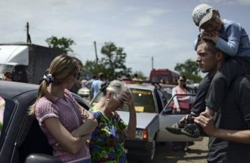 РНБО: Кількість жертв обстрілу колони біженців на Луганщині зросла до 17 осіб