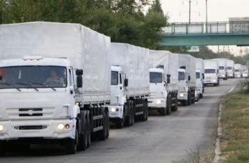 ОБСЄ: Гуманітарна колона повертається до РФ