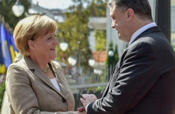 Меркель: Федерализацию как в Германии в Украине называют децентрализацией