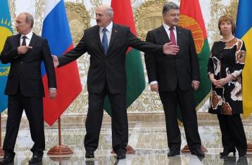 Порошенко и Путин проводят двустороннюю встречу