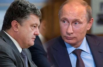 МИД: Порошенко и Путин обсудили Соглашение Украины с ЕС
