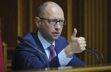 Яценюк призвал Запад заморозить все банковские активы России
