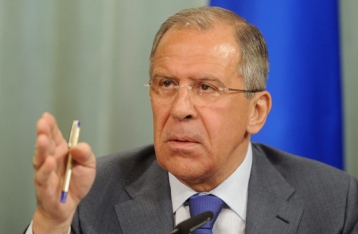Лавров опровергает заявление о вводе войск РФ в Украину