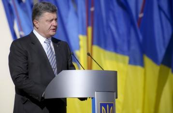 Порошенко обещает начать глобальную программу восстановления Донбасса