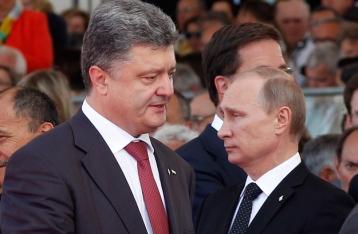 Порошенко и Путин договорились о режиме прекращения огня