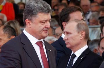 Порошенко і Путін домовилися про режим припинення вогню