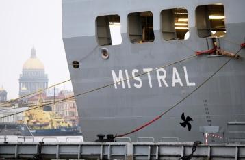 Франция приостанавливает поставку в РФ первого «Мистраля»
