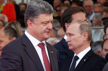 Порошенко и Путин констатировали, что режим прекращения огня в целом соблюдается