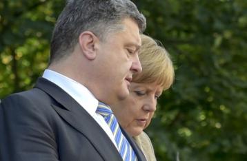 Порошенко і Меркель стурбовані порушенням перемир'я на Донбасі