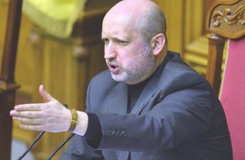 Турчинов: Межі районів Донбасу з особливим статусом визначатиме Рада