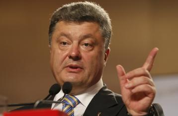 Порошенко: Украина получила от США разведывательное, радарное и надзорное военное оборудование
