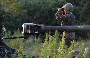 СНБО: Силы АТО готовятся к отводу артиллерии за 15-километровую зону