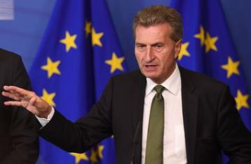 Еттінгер: Реверс газу в Україну можливий тільки тими газопроводами, де у «Газпрому» немає гарантійних прав