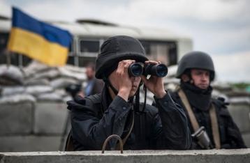 СНБО: Силы АТО обстреливают НВФ, которые никому не подчиняются