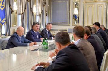Президент призвал Раду рассмотреть вопрос о границах районов Луганской области