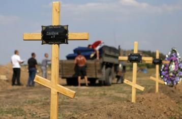 В докладе ООН нет данных о массовых захоронениях под Донецком
