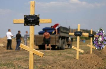 У доповіді ООН немає даних про масові поховання під Донецьком