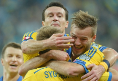 Сборная Украины одержала победу над Македонией