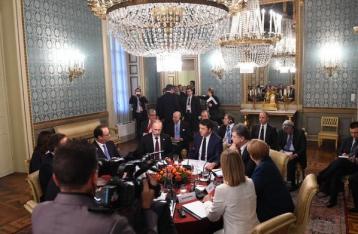 В Милане завершилась встреча с участием Порошенко и Путина по ситуации в Украине