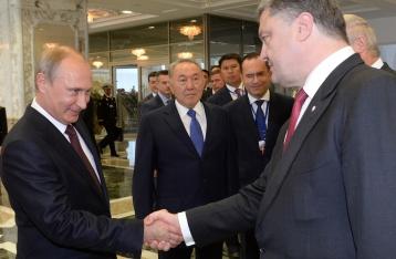 Порошенко обсудил с Путиным газовый вопрос и режим прекращения огня