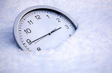 Україна переходить на зимовий час