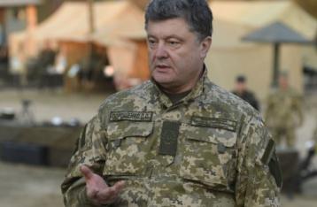 Порошенко в день виборів перебуває на Донбасі