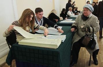 Явка избирателей на всех округах по состоянию на 16:00 составила 40,77%