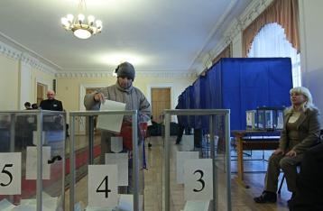 В Украине завершилось голосование на выборах