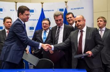 Україна, ЄС і Росія підписали угоди щодо газу на $4,6 мільярда