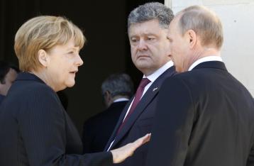 Порошенко, Путин, Меркель и Олланд подтвердили приверженность Минским договоренностям