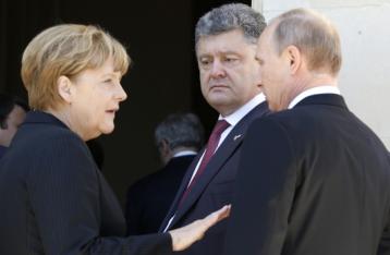 Путін, Меркель, Олланд і Порошенко підтвердили прихильність Мінським домовленостям
