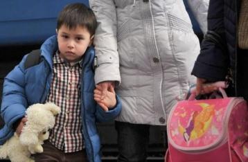 Количество вынужденных переселенцев увеличилось до 452 тысяч человек