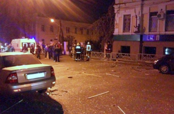 В Харькове в кафе прогремел взрыв