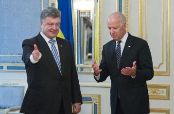 Порошенко и Байден констатировали «отход от реализации Минских договоренностей»