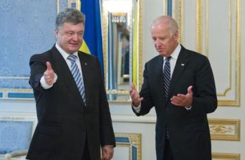 Порошенко і Байден констатували «відхід від реалізації Мінських домовленостей»