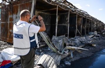 ОБСЕ отмечает высокий риск эскалации насилия на Донбассе
