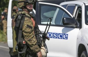 ОБСЄ: Робота спецмісії на Донбасі обмежена