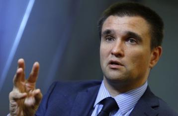 Клімкін: Київ не має наміру відвойовувати Донбас