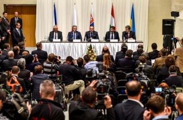 Украина и «Вышеградская четверка» договорились о новом формате сотрудничества