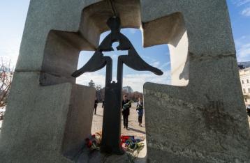 Президент: Геноцид в Украине никогда не повторится
