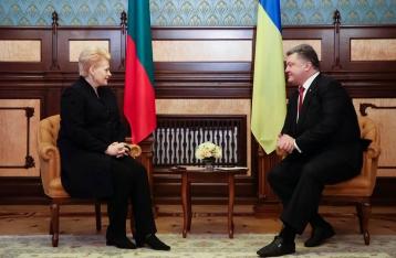 Президент: Решение по НАТО Украина будет принимать на референдуме