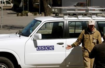 Наблюдатели ОБСЕ вновь попали под обстрел на Донбассе